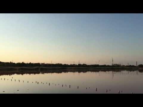 Евпатория - озеро Мойнакское Купания в грязи Мойнаки Крым 2016 погода в Крыму