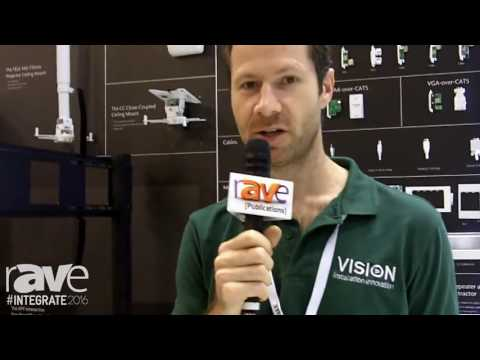 Integrate 2016: Vision Shows Techconnect, S8-800P Soundbar, Freespace Room Booking System