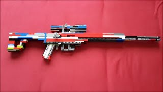 Lego Sniper rifle v7 + (instruction)