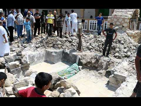 Hazrat Zuhayr Ibn Qais Al-Balaw (Companion of Mohammed) Tomb Destroyed by Wahabis in Libya