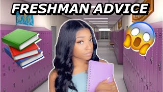 Realistic FRESHMEN advice // HOW TO SURVIVE HIGH SCHOOL