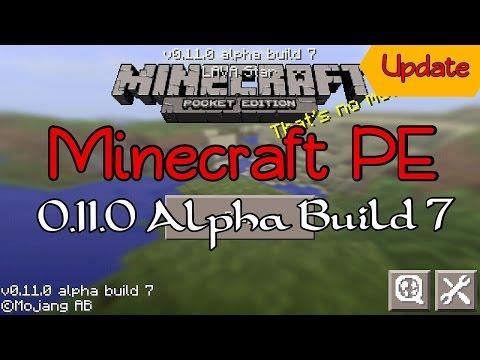 Minecraft PE 0.11.0 Update Alpha Build 7 | อัพเดต + รีวิว!!