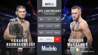 Khabib Nurmagomedov vs Conor Mc Gregor UFC 229 TITLE FIGHT + Brawl COMPLETE FULL FIGHT!!