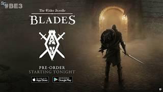The Elder Scrolls: Blades - Full Reveal Bethesda E3 2018 HD