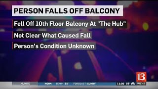 Person fell from high rise near Purdue