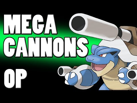 Pokemon X & Y Strategy - Triple Cannon OP! Metagame for Mega Blastoise