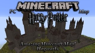 Minecraft Incredible Harry Potter Hogwarts Map! (PC Download)