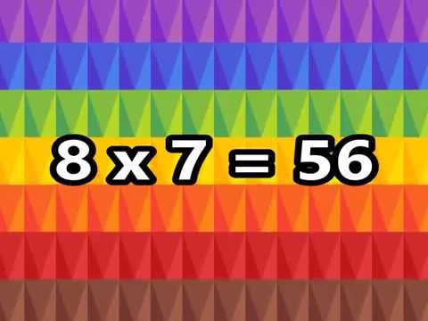 The 8 Times Table Song Multiplying  8  Silly School Songs