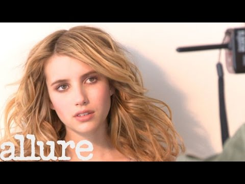 Emma Roberts' Allure Cover Shoot