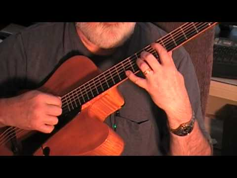 Tenderly solo guitar arrangement