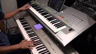 Disco Medley 80's Give Me Your Love Tonight - Yamaha Tyros 2 and Korg Triton Studio