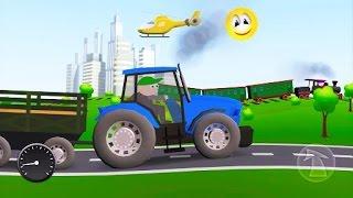 Мультфильмы про машинки. Мультики для Детей  Разные виды транспорта. Новинка Осень 2016