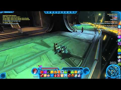 Czerker Patroller Speeder Mount In Star wars The Old Republic (swtor)