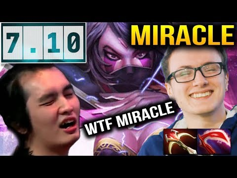 MIRACLE Templar Assassin 2 HIT ONE KILL at 30 Minutes VS ICEICEICE MID Dota 2 7.10