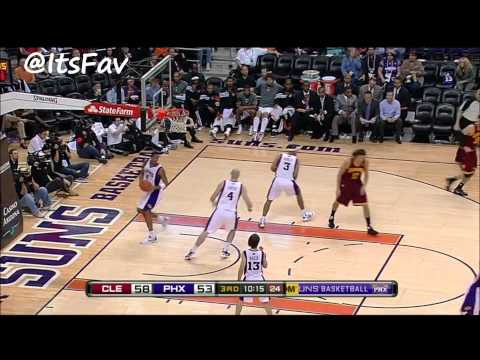 Kyrie Irving Full Highlights vs Phoenix (1/12/12)