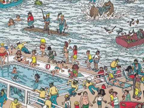 Werner Herzog Reads Where's Waldo