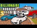 BILLIONAIRE ROBBERS W/ NEW PORSHE 911 RUNNING FROM THE COPS | FARMING SIMULATOR 2017