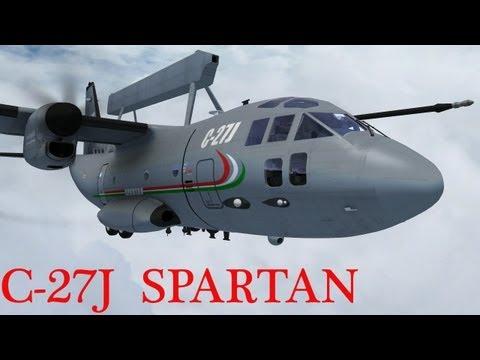IRIS PLATINUM SERIES  C 27J SPARTAN FSX HD