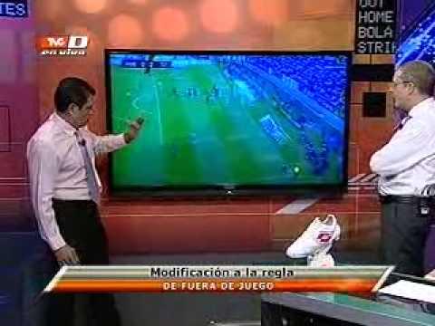 Comisi n de arbitraje da a conocer la modificaci n a la for Regla de fuera de juego en futbol