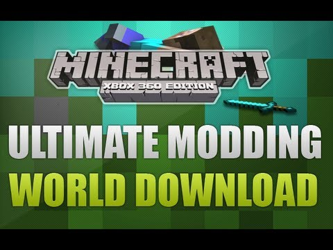 Minecraft Xbox 360 - The Ultimate MODDING World With Download