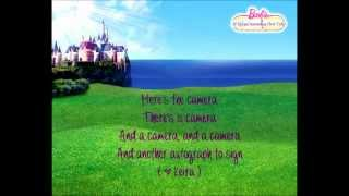 Barbie The Princess and The Popstar - To Be A Princess / Popstar w/lyrics