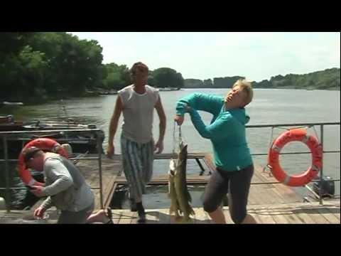 путешествие и рыбалка на волгу с семьей на автомобиле видео