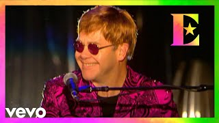 Elton John Funeral For A Friend Love Lies Bleeding Madison Square Garden Nyc 2000