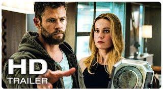 AVENGERS 4 ENDGAME Thor Loves Captain Marvel Trailer (NEW 2019) Marvel Superhero Movie HD