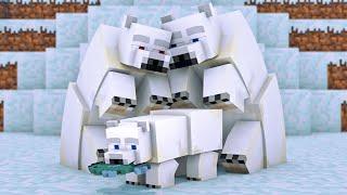 Polar Bear Life Minecraft Animation