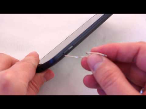 Alcatel One Touch Hero Dual SIM instalacja kart SIM