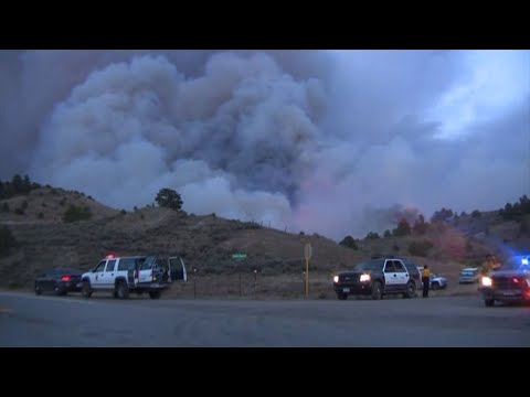 Hundreds Told To Evacuate Colorado Wildfire