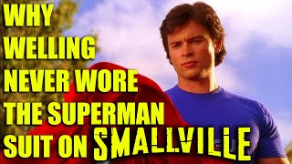 Why Welling never wore the Superman suit on Smallville
