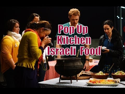 Cooking Israeli Food at Haifa University
