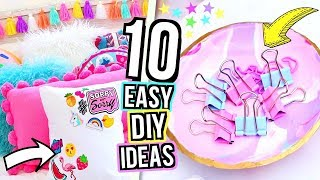 (15.8 MB) ROOM DECOR DIY 2018! 10 DIY Room Decorating Ideas for Teenagers! 5 Minute DIY's For Your Room! Mp3