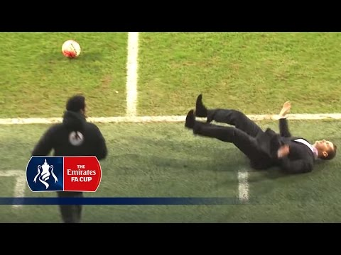 Top 5 Funny Moments - Emirates FA Cup 2015/16 | Top 5