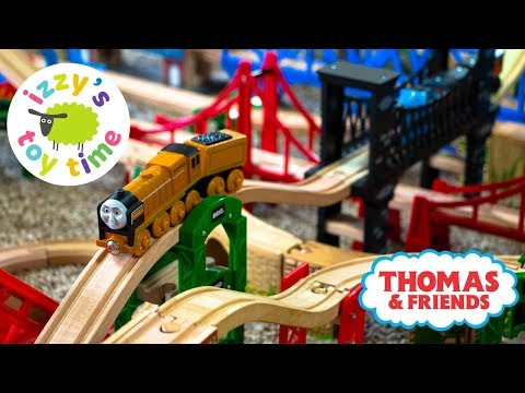 Toy Trains for Kids | WE GOT MURDOCH! BRIDGE ONLY TRACK! Thomas and Friends | Video for Kids
