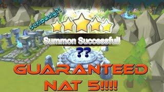 SUMMONERS WAR - GUARANTEED NAT 5!?!?