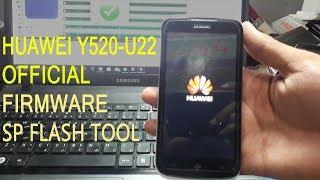 Huawei Y520 U22 Firmware SP Flash Tool