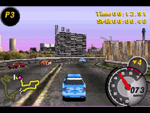 Need for Speed - Most Wanted - NFS - Most Wanted (GBA) -- Some Gameplay, And the Power of Strategy - User video