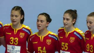 W17 EHF Championship: Italy - North Macedonia 24-23