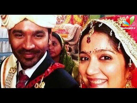 Dhanush's wedding photo goes viral on internet | Hot Tamil Cinema News