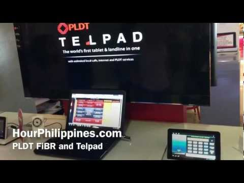 PLDT Telpad Fibr Speedtest by HourPhilippines.com