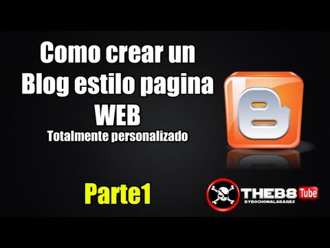 1 2 CREA TU BLOG ESTILO PAGINA WEB TOTALMENTE PERSONALIZADO