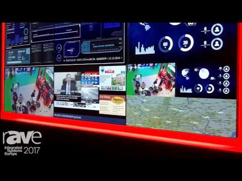 ISE 2017: Avenview Talks About AV Wall+ Ultimate Video Wall Solution