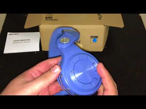 Bluedio Bluetooth Headphone Unboxing and Review