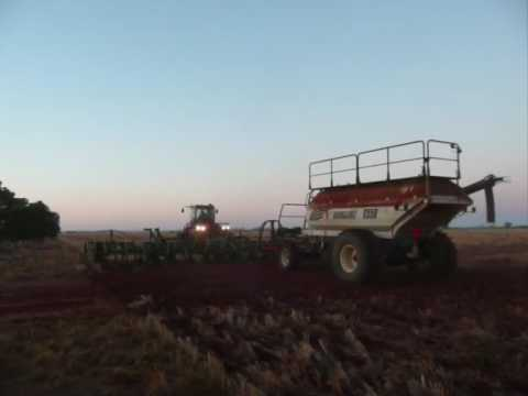 Wheat Seeding Western Australia 2009 - J & B Sawyer
