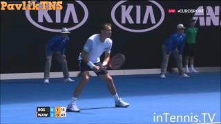 Stanislas Wawrinka vs Lukas Rosol Highlights ᴴᴰ Australian Open 2016