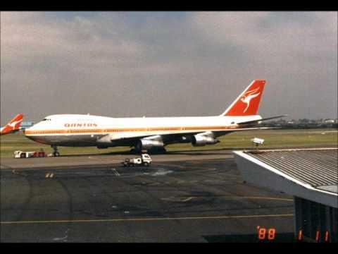 Qantas 747 200B