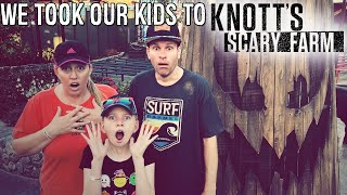 Halloween at Knott's Berry Farm!