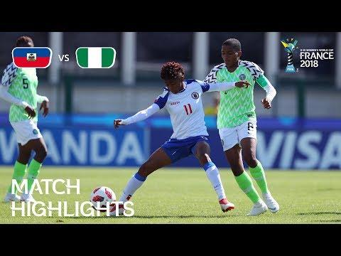 Haiti v. Nigeria - FIFA U-20 Women's World Cup France 2018 - Match 15